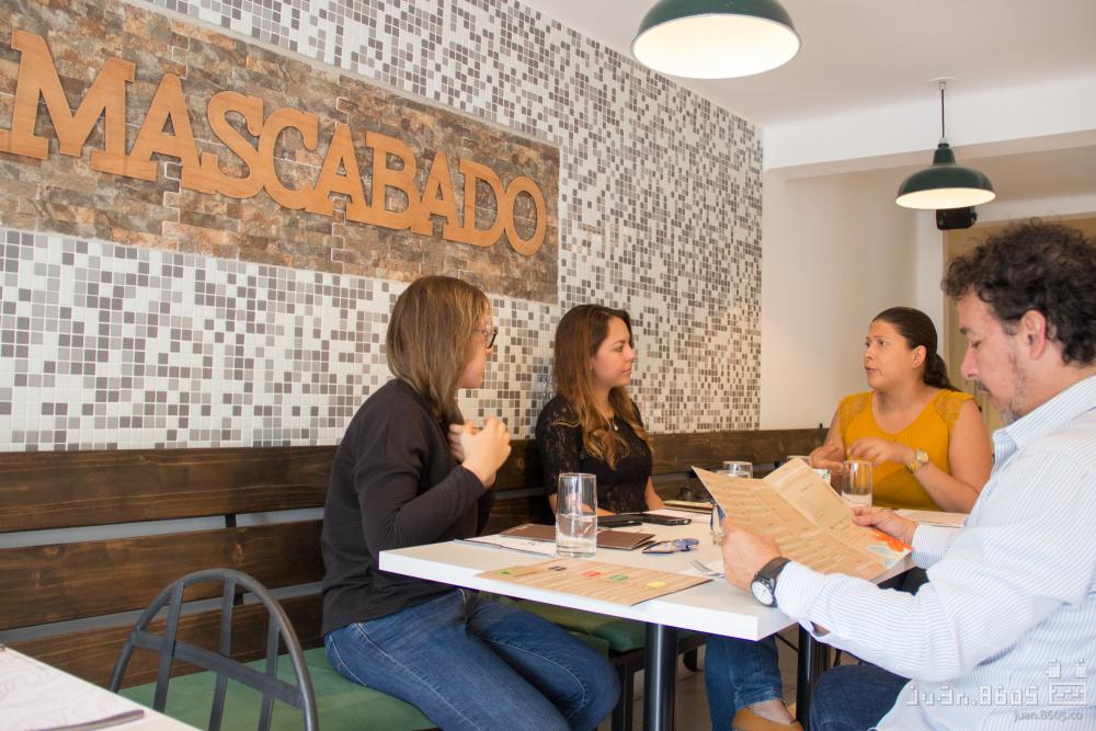 comida saludable restaurante mascabado