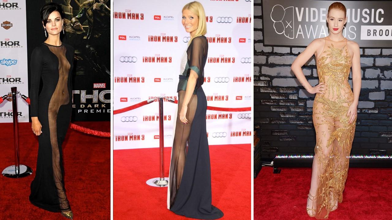 tendencia transparencias 2016 2017 celebridades y runway