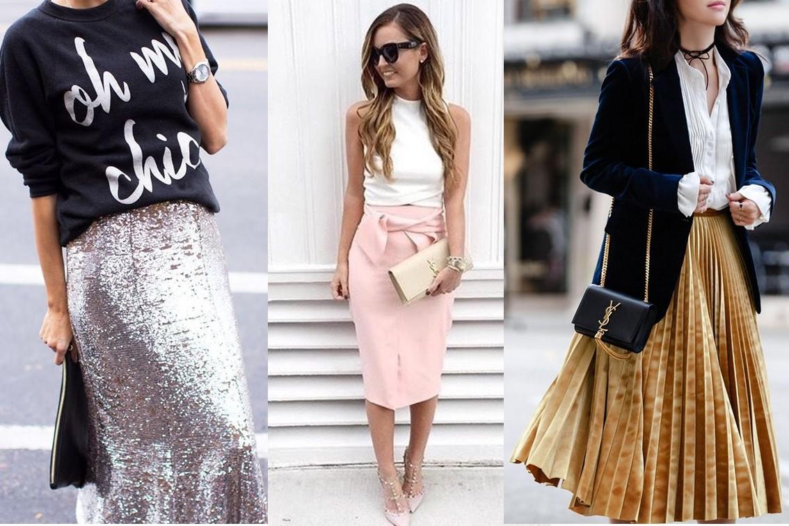 Faldas ¿Que ponernos para fin de año? Una guía sobre tendencias y estilo.