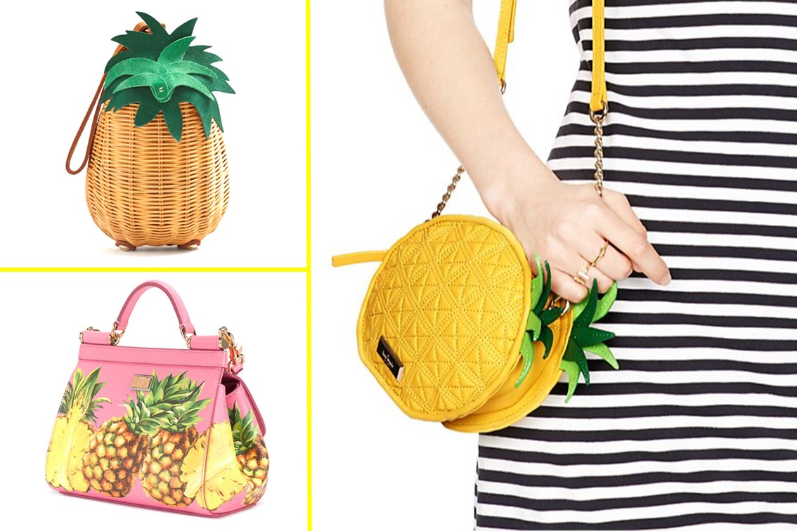 Dolce & Gabbana Tendencia carteras de frutas fruit tropical summer 2017 trend