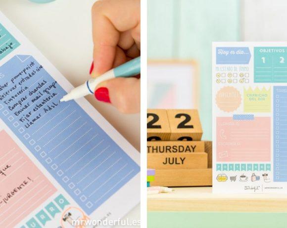 Mr Wonderful colombia España Anna Peñafort como organizarte agenda calendario